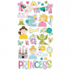 Chipboard Little Princess