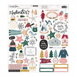 Stickers Puffy Wish Seasons