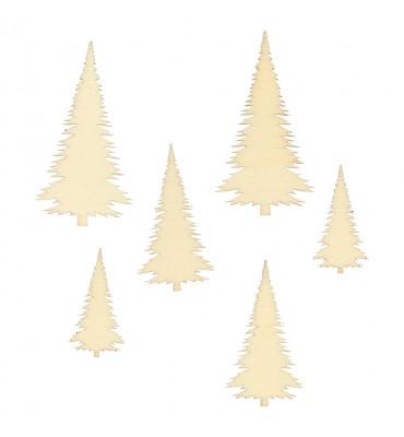 30 mini silhouettes Tree
