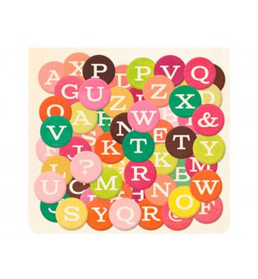 Outlet − Pegatinas alfabeto...