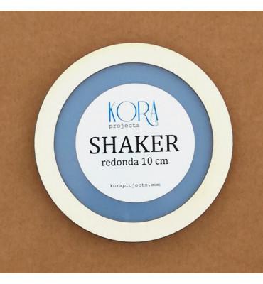 Shaker redonda 10 cm.