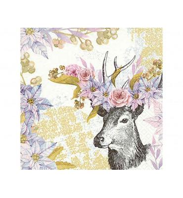 Servilletas papel Dreamy deer
