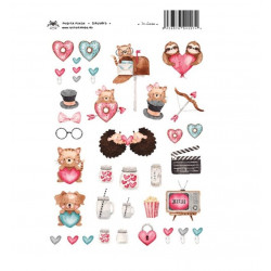 IN LOVE - STICKERS