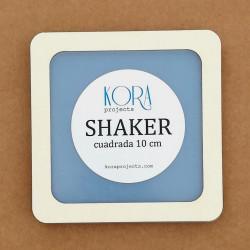 SHAKER CUADRADA 10 CM
