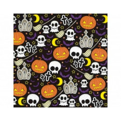 Servilleta papel Halloween